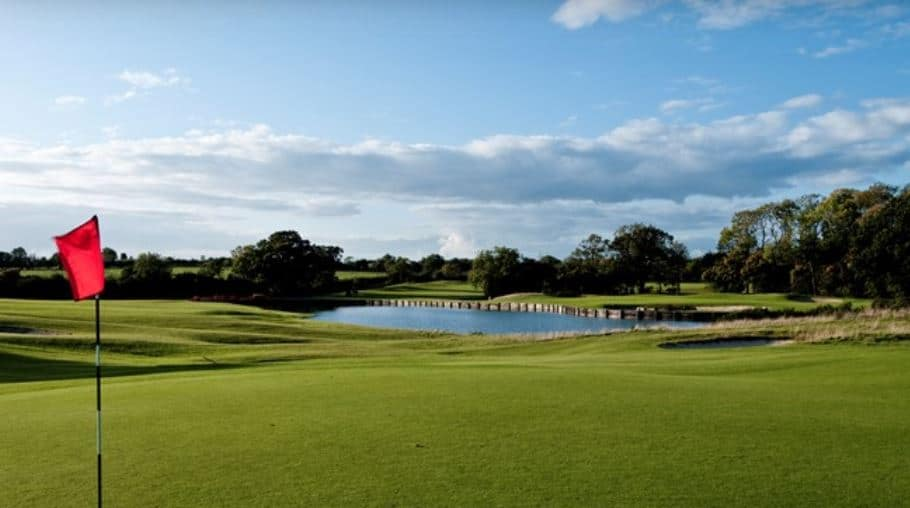 The 15th Hole on the Codrington Course at The Players Club