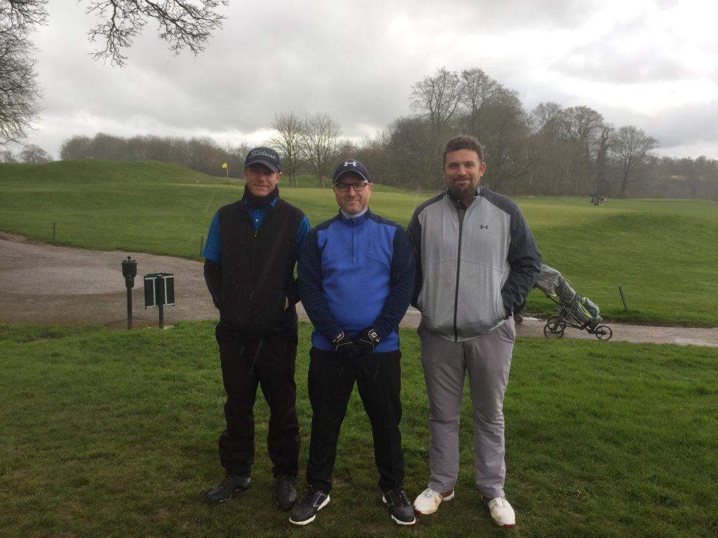 Fore King Golf Competitors Dan, Brian & Alex