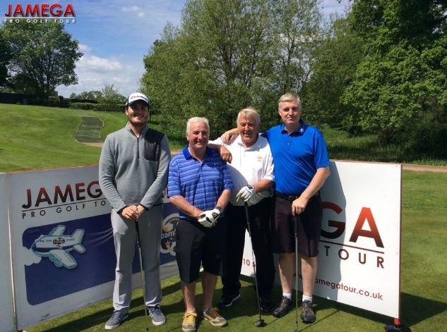 Steve King, Matt Mumford, Roger Chequer and Malcolm Clarke at Jamega Pro Tour Pro AM