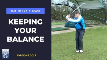 How To Fix A Golf Shank With The Balance Drill