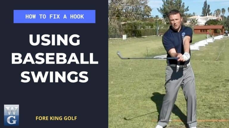 How To Fix A Hook By Using Baseball Swings