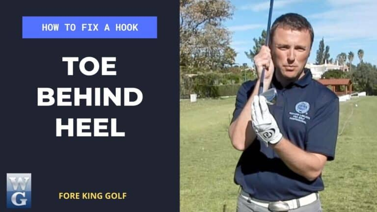 How To Fix A Hook Keeping The Toe Behind The Heel Of The Club