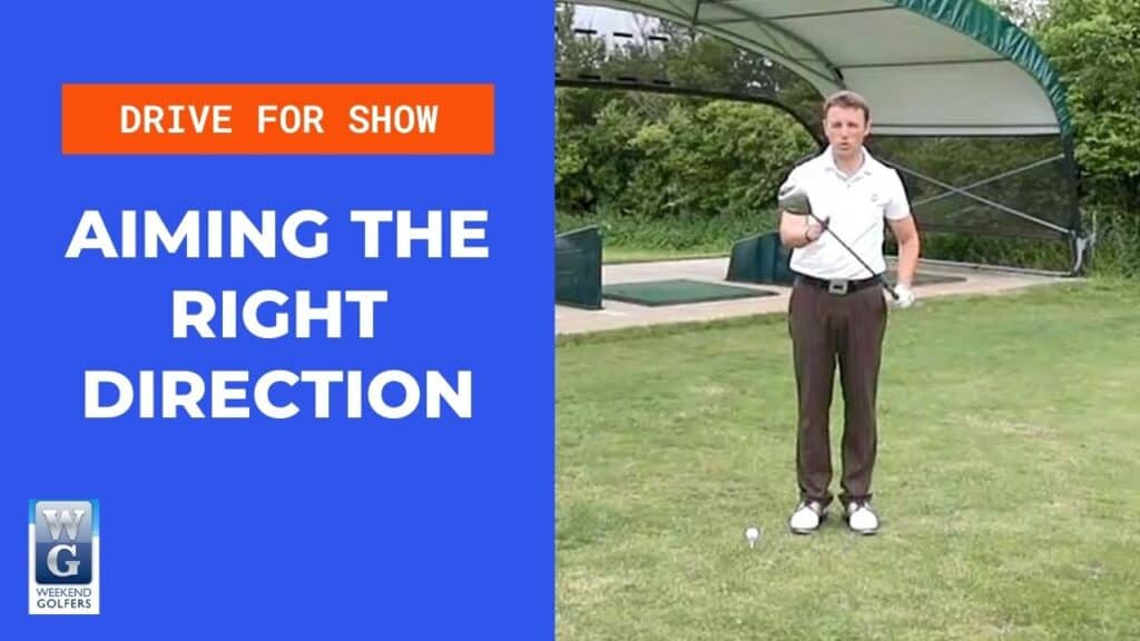 aiming the golf club the right way