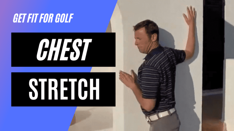 static stretch for the chest muscles