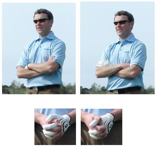 PGA Pro Richard Lawless teaching how hard it is to change