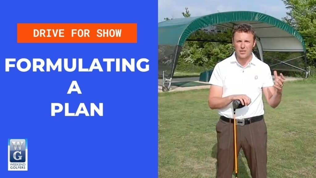 formulating a plan in golf