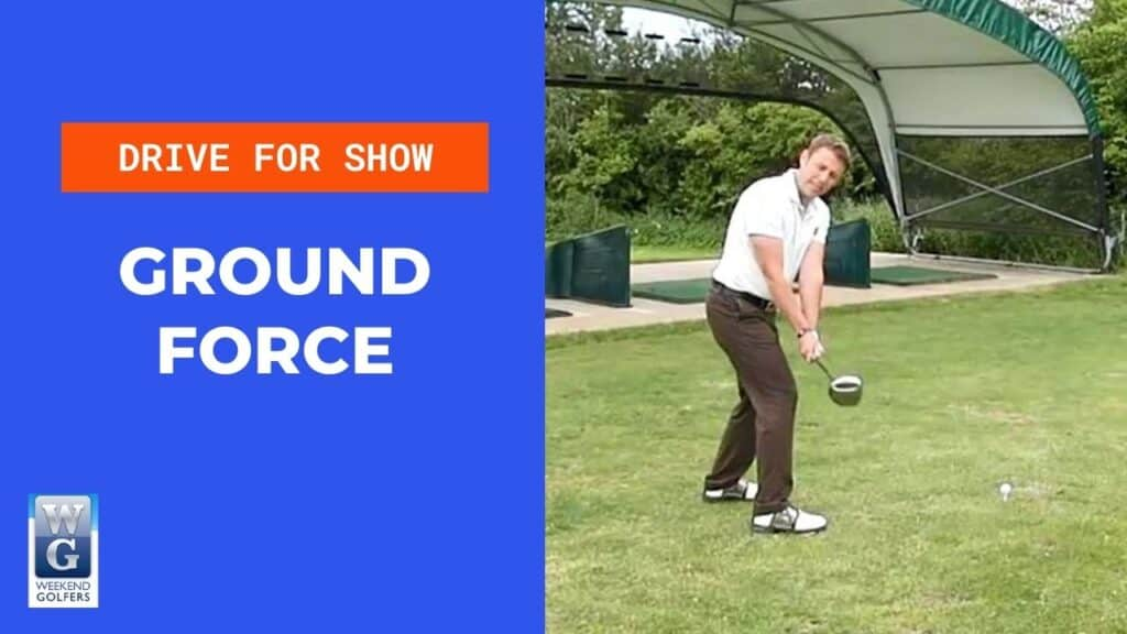 ground force in the golf swing