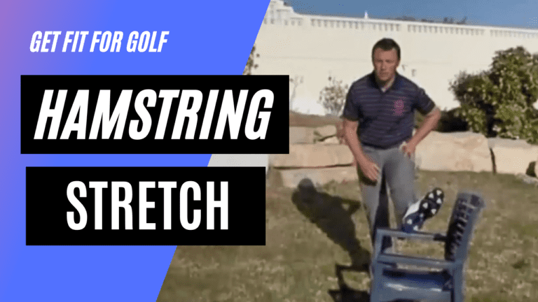 static stretch for the hamstring