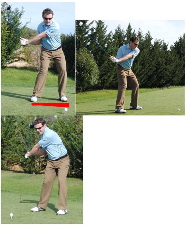 PGA Pro Richard Lawless teaching key stage 3 of the golf swing