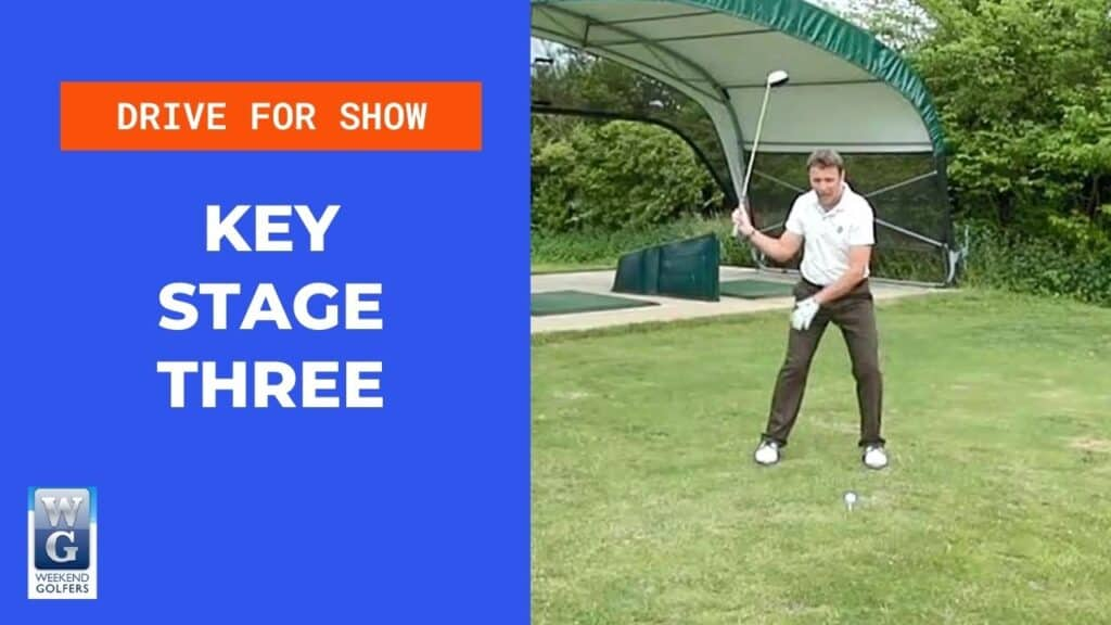 key stage three in the golf swing