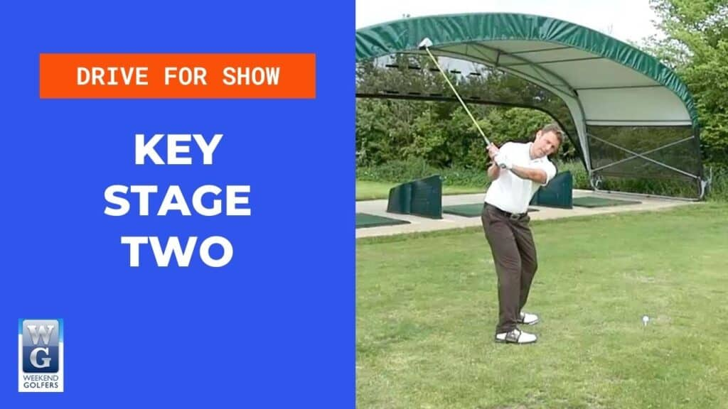 key stage two in the golf swing