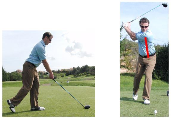 PGA Pro Richard Lawless teaching key stage 2 of the golf swing