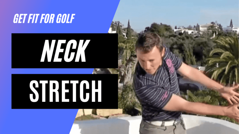 static stretch for the neck