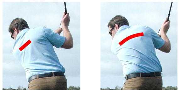 PGA Pro Richard Lawless teaching scapular protraction in the golf swing