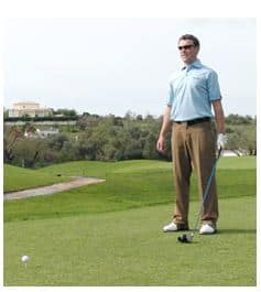 PGA Pro Richard Lawless teaching how see it on the course