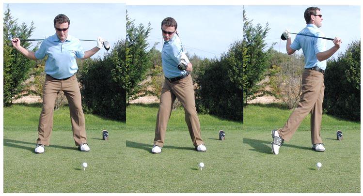 PGA Pro Richard Lawless teaching shoulder rotation in the golf swing