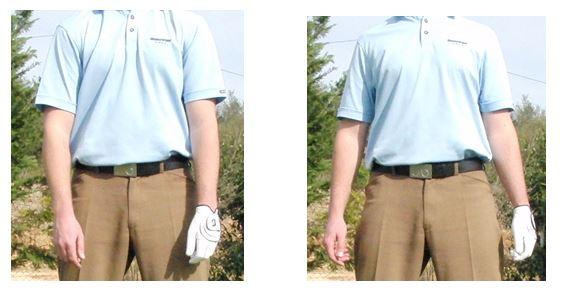 PGA Pro Richard Lawless teaching shoulder efficiency in the golf swing