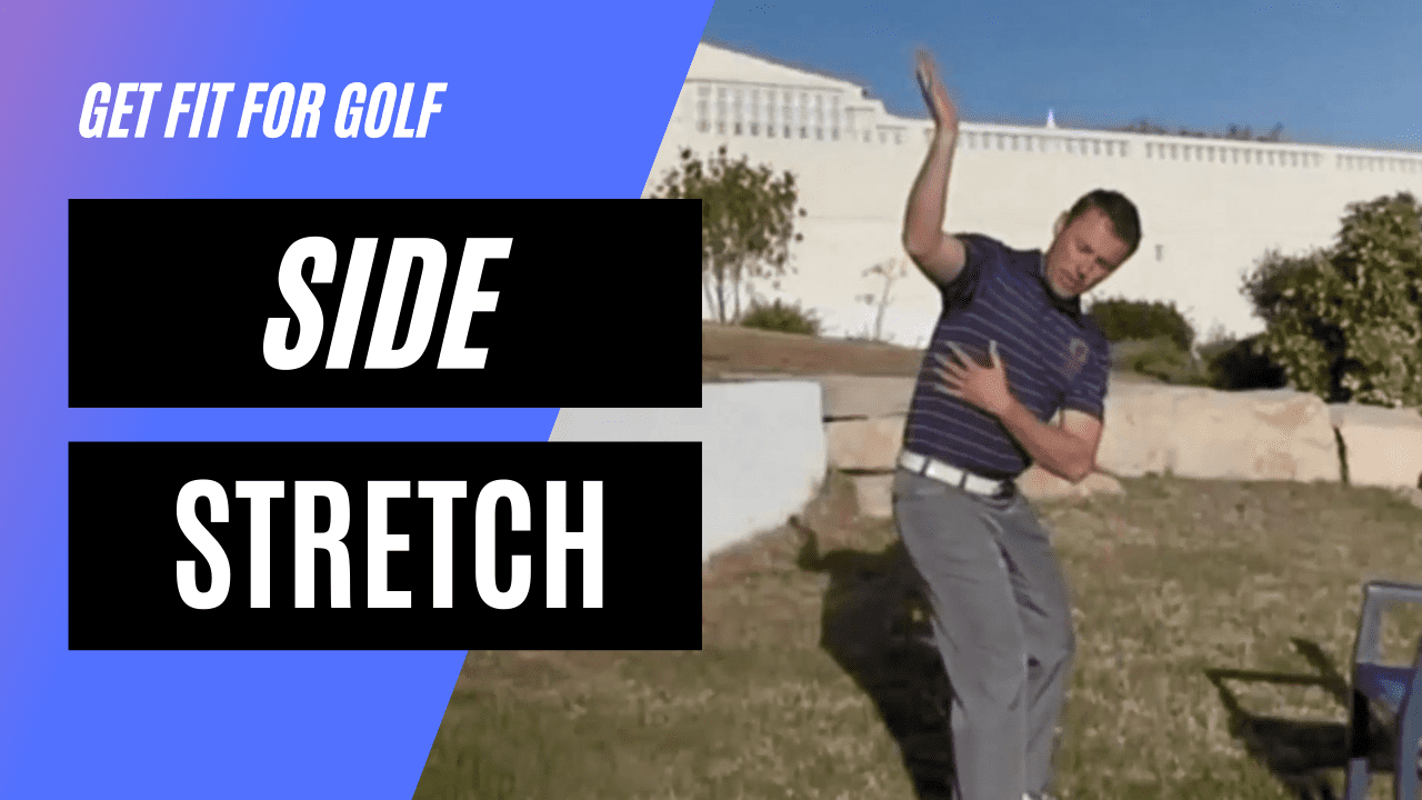 A Static Side Stretch For The Side Muscles