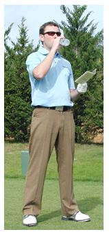 PGA Pro Richard Lawless recommends staying hydrated on the course