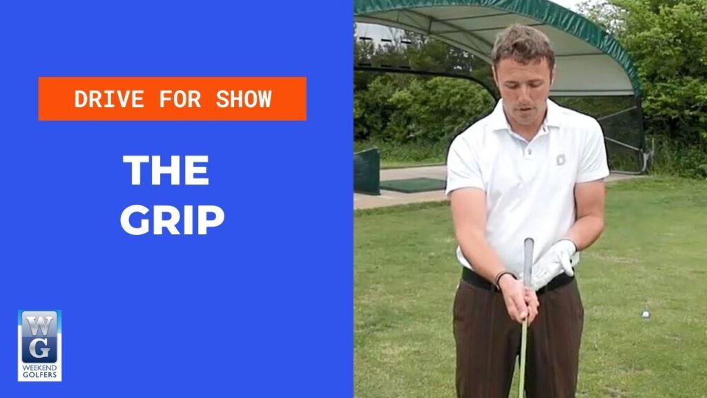 the golf grip
