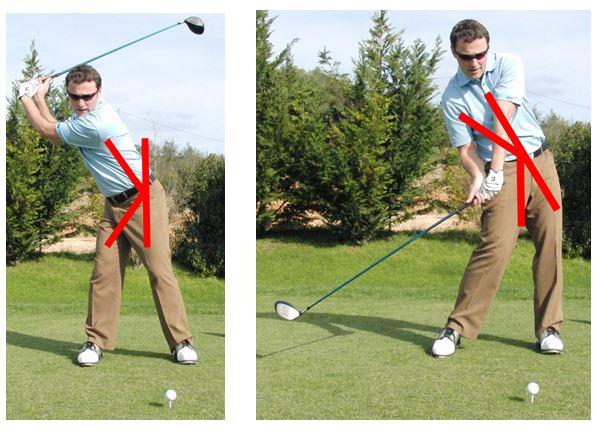 PGA Pro Richard Lawless teaching the reverse k in the golf swing