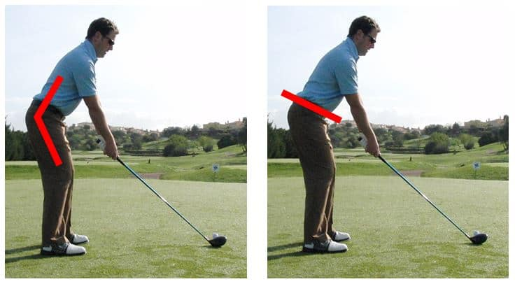 PGA Pro Richard Lawless showing V-symmetry in the golf swing