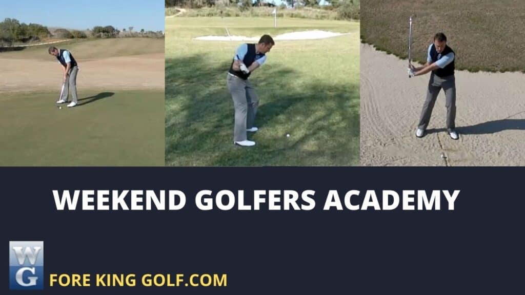 Weekend Golfers Academy at Fore King Golf