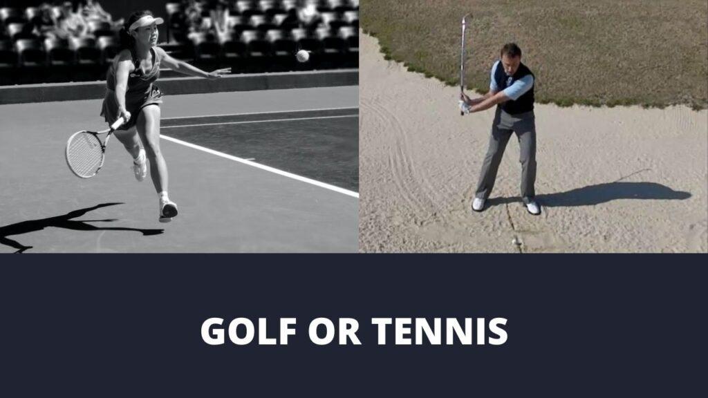 Where Golf And Tennis Meet