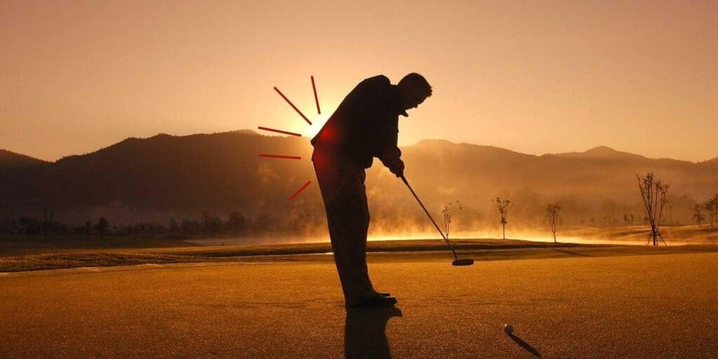 how to play golf when you have sciatica
