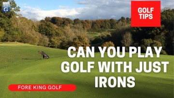 Can You Play Golf With Just Irons? (Pros & Cons)